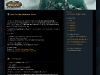 WoW Lich King WordPress Theme